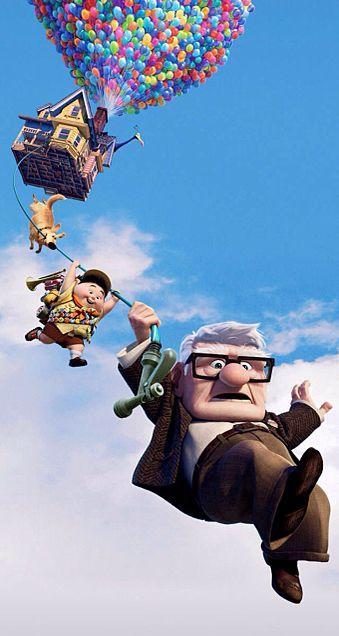 カールおじさんと空飛ぶ家の画像 プリ画像