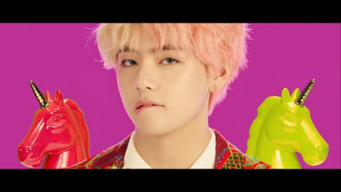 BTS  IDOL  テテ🐯の画像(プリ画像)