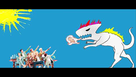 BTS  IDOL  💣の画像(プリ画像)