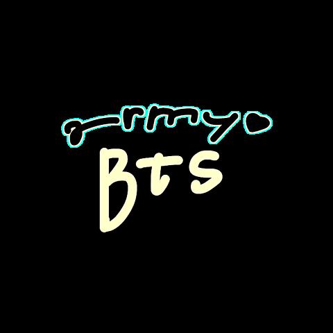 BTS×army 背景透けの画像(プリ画像)