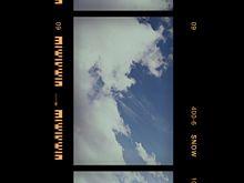 #レトロ風     #空    #雲の画像(レトロ風に関連した画像)