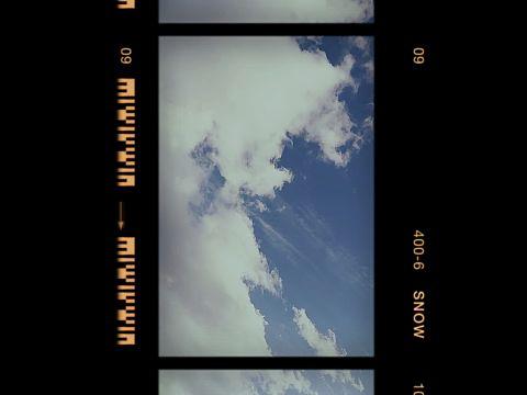 #レトロ風     #空    #雲の画像(プリ画像)