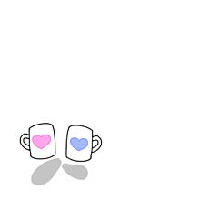 ペアマグカップ .の画像(プリ画像)