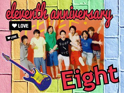 The eleventh anniversaryの画像(プリ画像)