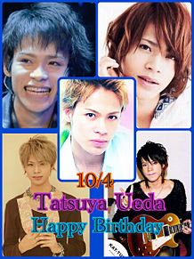 10/4 Happy Birthday Tatsuya Uedaの画像(Tatsuyaに関連した画像)