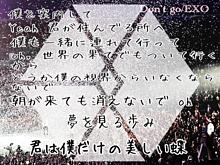 We are EXO!!!の画像(Don'tgoに関連した画像)