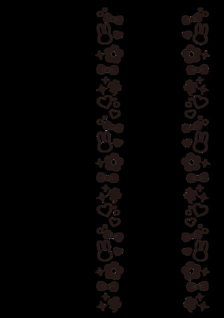 Rabits風キンブレシートフレームの画像 プリ画像