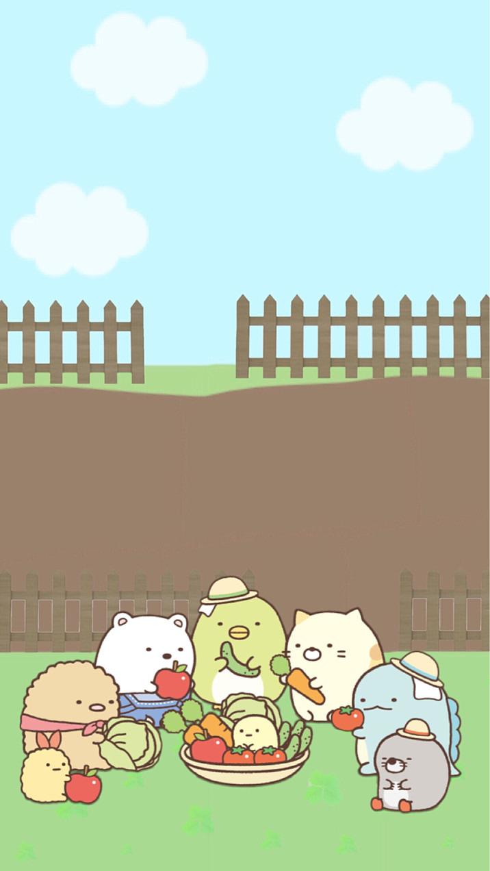 すみっコぐらし 収穫祭 完全無料画像検索のプリ画像 Bygmo