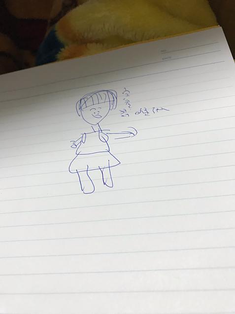 莉唯ちゃんの似顔絵の画像(プリ画像)