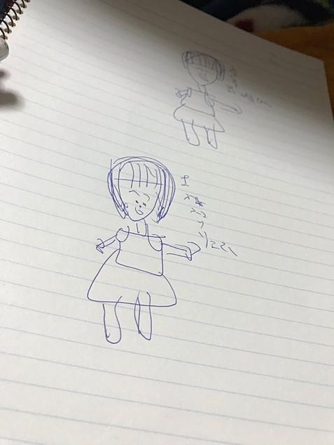 上村りいなちゃん似顔絵の画像(プリ画像)