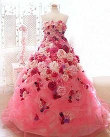 ドレスの画像(ばら/バラ/薔薇に関連した画像)