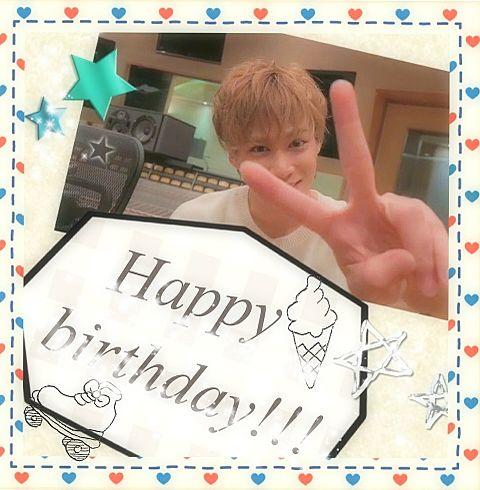 千賀健永Happybirthday!!!の画像(プリ画像)