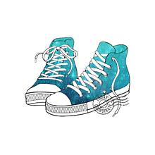 くつ イラスト スニーカーの画像18点|完全無料画像検索のプリ