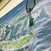 黒板アート天気の子の画像(黒板アートに関連した画像)