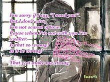 You make me Strong プリ画像