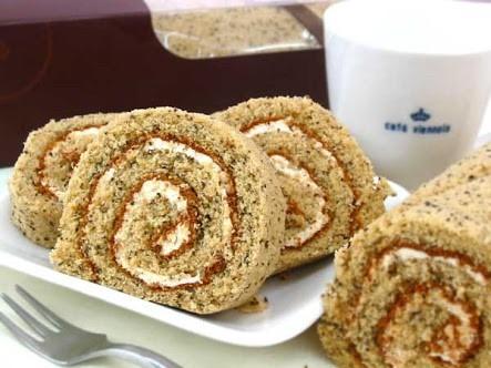 コーヒーロールケーキの画像(プリ画像)