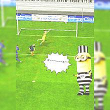 ミニオン サッカー実況2の画像(ライン/トプ画/ホーム画に関連した画像)
