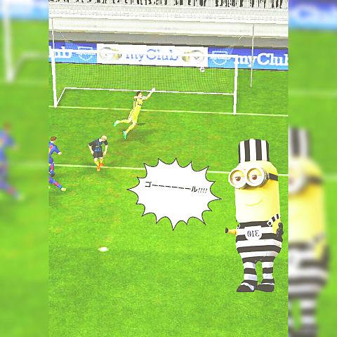 ミニオン サッカー実況2の画像(プリ画像)