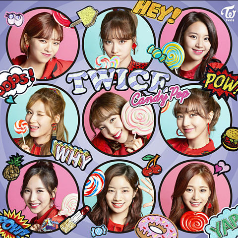 TWICE    CandyPopの画像(プリ画像)