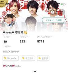 """フォロワー523人♪( ◜ω◝و(و """""""