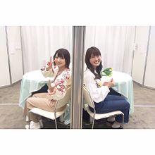 太田夢莉、渋谷凪咲の画像(AKBグループに関連した画像)