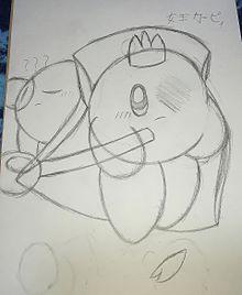 オリカビ カービィ女王&???の画像(オリカビに関連した画像)