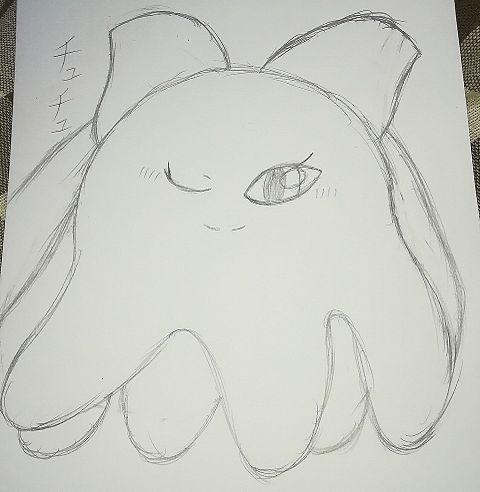 チュチュ…を描きたかった。の画像(プリ画像)