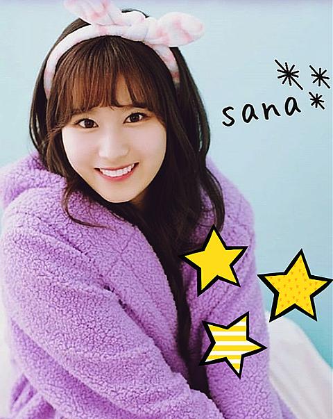twiceのサナちゃんの画像(プリ画像)