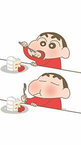 韓国風壁紙の画像(クレヨンしんちゃんに関連した画像)