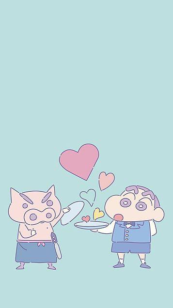 クレヨンしんちゃん壁紙  保存は♡の画像(プリ画像)