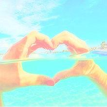 water heartの画像(プリ画像)