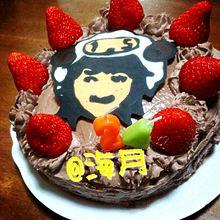 千ちゃんのお誕生日ケーキの画像(プリ画像)