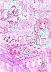 カップケーキショップの画像(カップケーキに関連した画像)