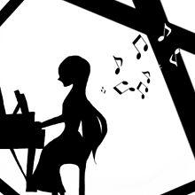 piano シルエット 描いてみたの画像(ピアノ イラストに関連した画像)
