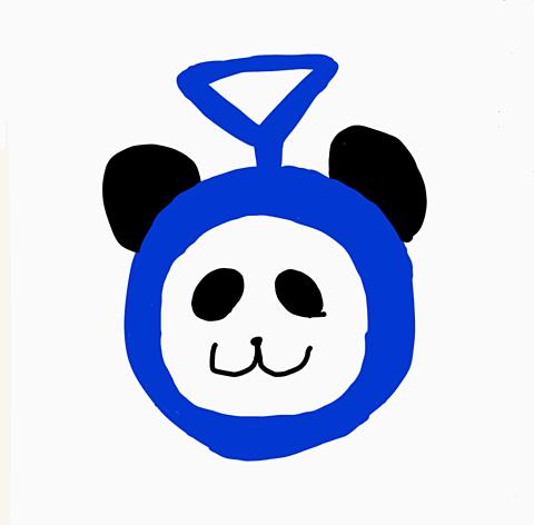 パンダのティンキーオリキャラの画像(プリ画像)