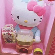 キティちゃんポップコーンの画像(#ポップコーンに関連した画像)