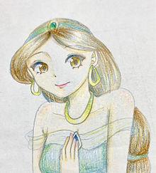 ジャスミンの画像(色鉛筆に関連した画像)