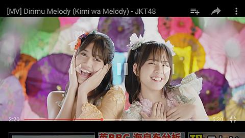 君はメロディー   JKT 48の画像(プリ画像)