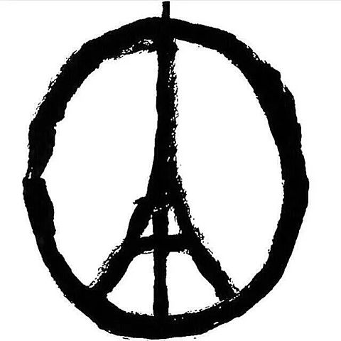 Pray for parisの画像(プリ画像)