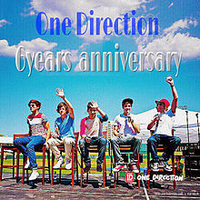 One Direction  結成6周年!の画像(プリ画像)