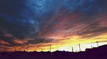 夕焼けの画像(綺麗な空に関連した画像)