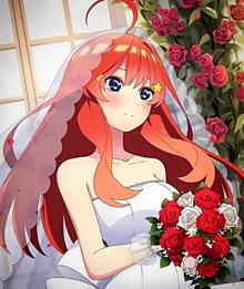 五等分の花嫁 中野五月の画像(中野五月に関連した画像)