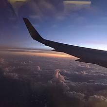 飛行機から見る空の画像(#空に関連した画像)