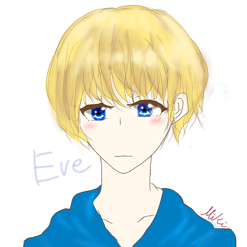 Eve君初描き!!の画像(プリ画像)