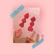 いちごあめの画像(マスキングテープに関連した画像)