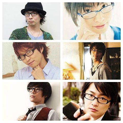 男性声優さんのメガネどれがいい?Ver.3の画像(プリ画像)