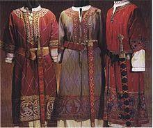 北欧ヴァイキングの男性の服装の画像(北欧に関連した画像)