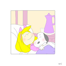 スヌーピーと ⁎∗の画像(プリ画像)