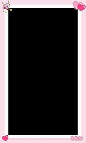 シンプル ハート フレームの画像(加工用に関連した画像)