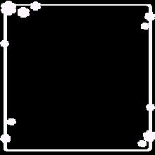 シンプル 花 フレームの画像(加工用に関連した画像)
